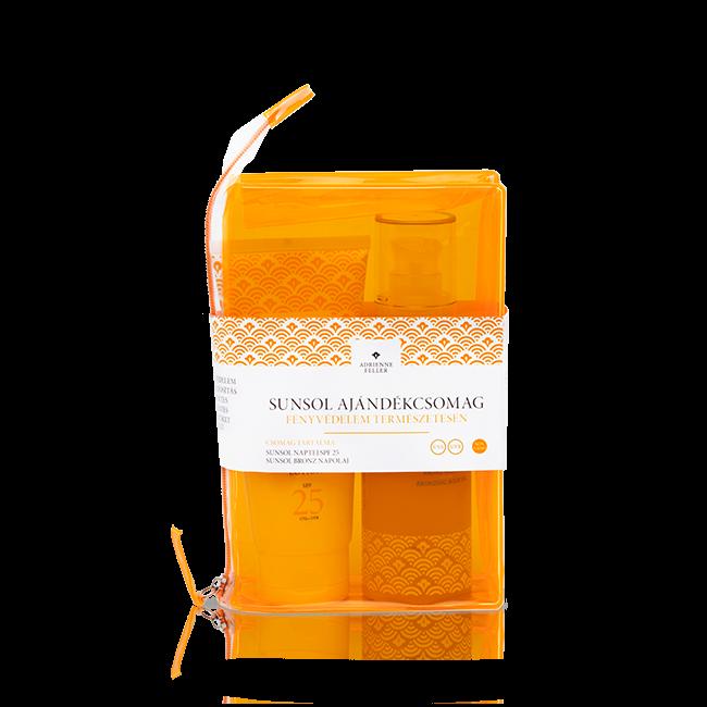 Sunsol ajándékcsomag (SPF25+Bronz napolaj)