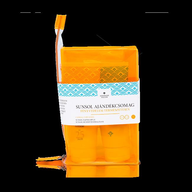 Sunsol ajándékcsomag (SPF25+Hűsítő Testbalzsam)